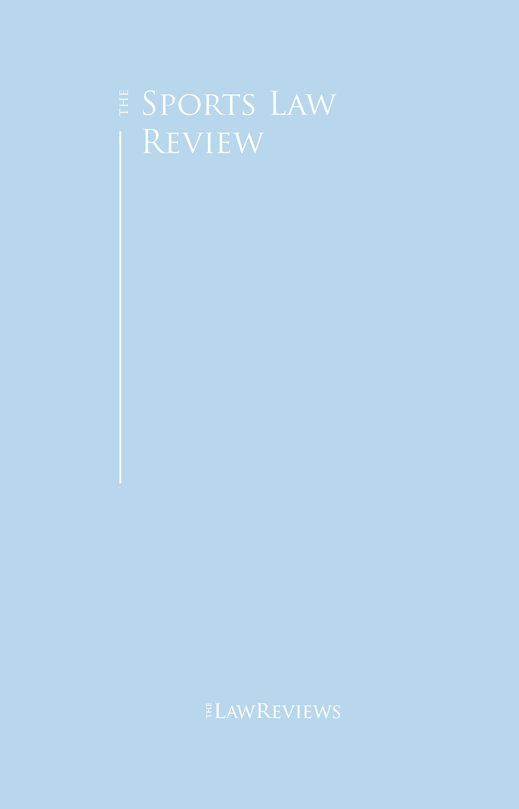 The Sports Law Review