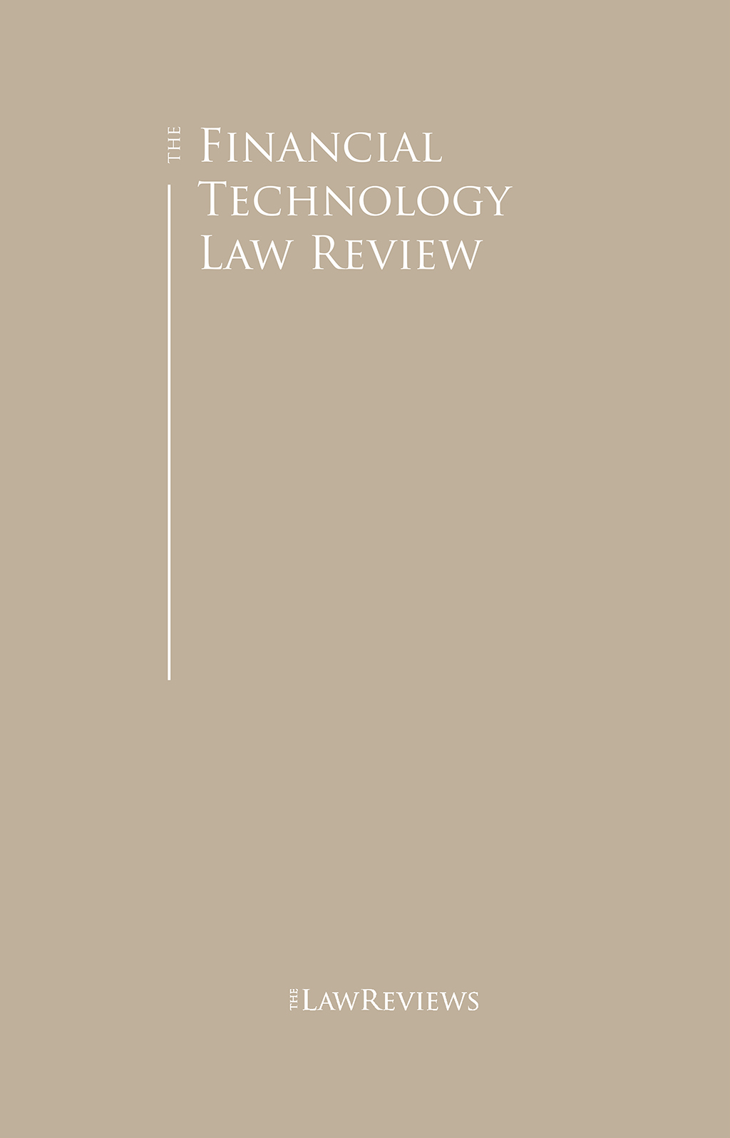 The Financial Technology Law Review