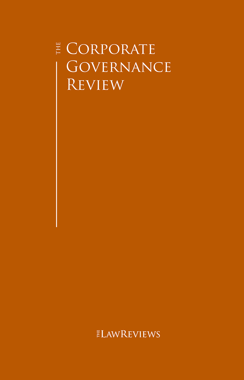 The Corporate Governance Review