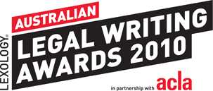Lexology Australian Writing Awards